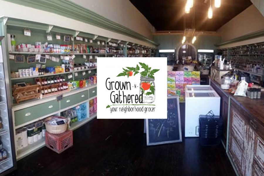 Grown-N-Gathered interior railcar style store