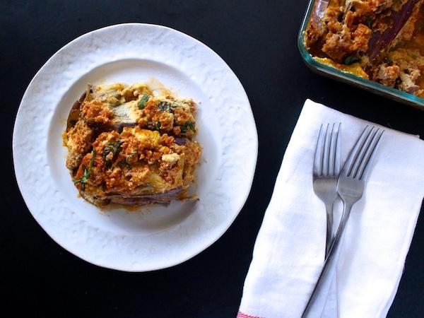 Jean Choi's Turkey Eggplant Lasagna Recipe