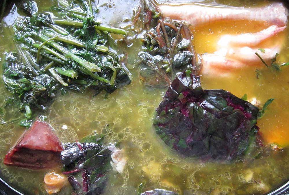 Celeste Longacre's Bone Broth Soup Recipe