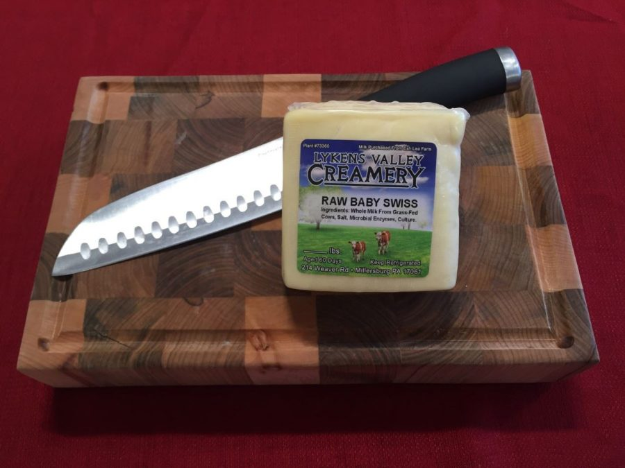 Baby Swiss Cheese, Grass-fed Dairy