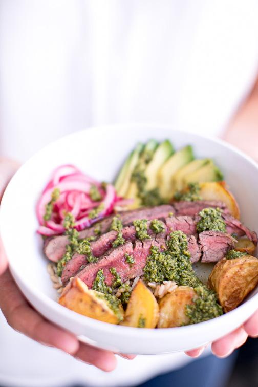 Kate Kordsmeier's Steak Bowls