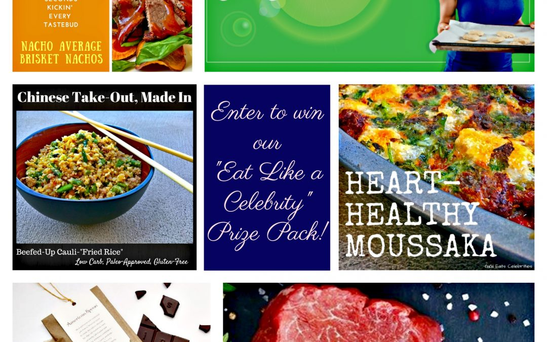 Eat Like A Celebrity Prize Pack – ENTER TO WIN