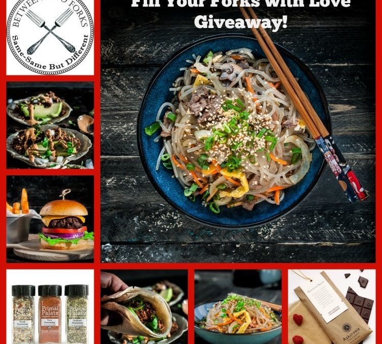 Fill Your Forks With Love Giveaway
