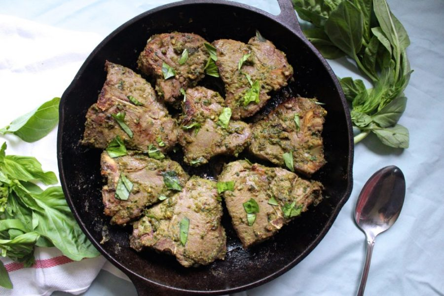 Grass-fed Lamb Chops
