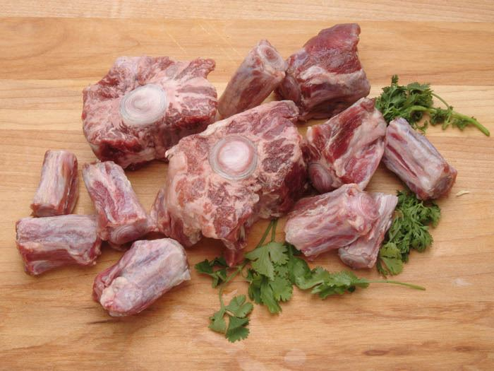 Beef oxtail, joint health