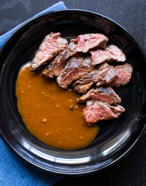 hanger steak recipe