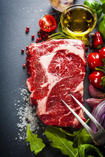 metabolism, steaks, fat loading