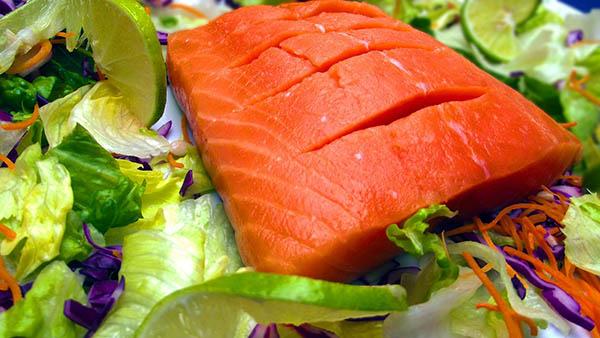 wild caught Salmon, fat for fuel