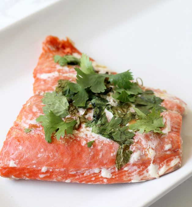 Cilantro Lime Salmon Recipe