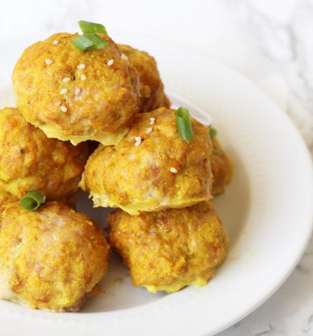 Turmeric Chicken Meatballs Recipe