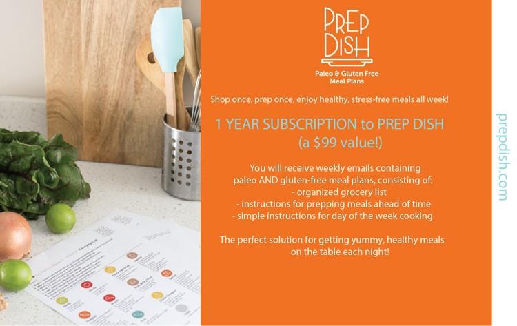 prep dish giveaway