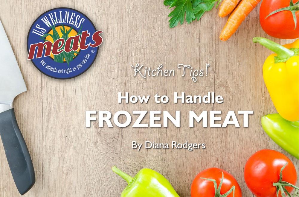 frozen meat, kitchen tips