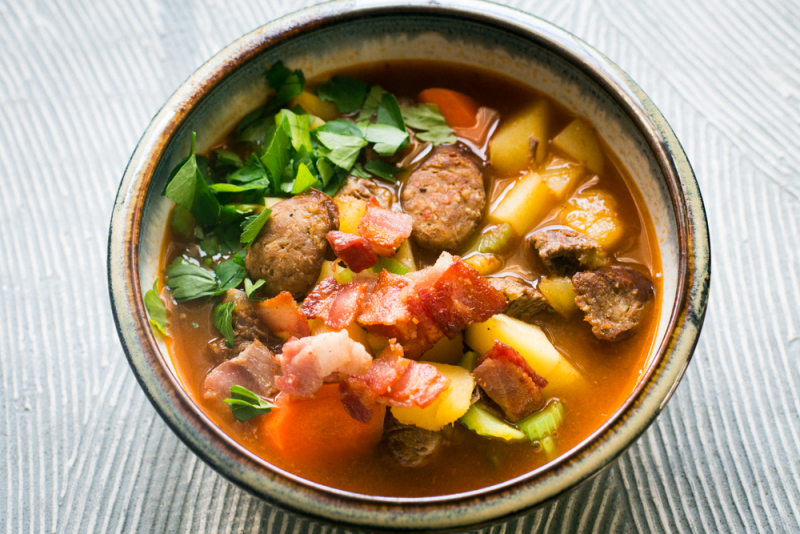 Creole Beef Puchero Recipe
