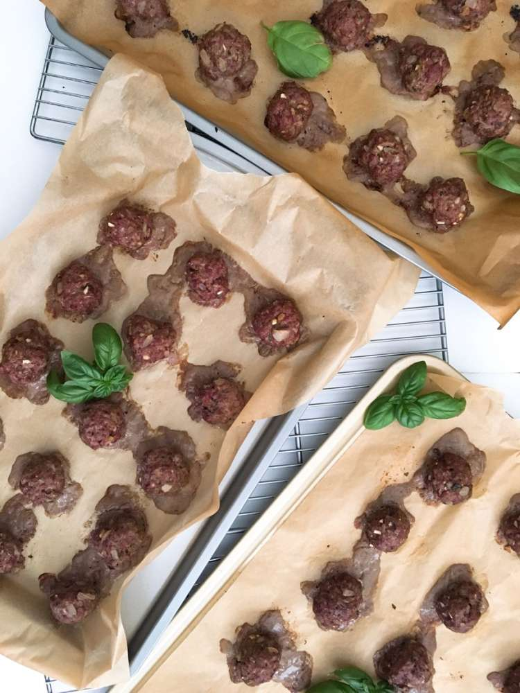 Stacey Hutson's Hormone Balancing Meatballs