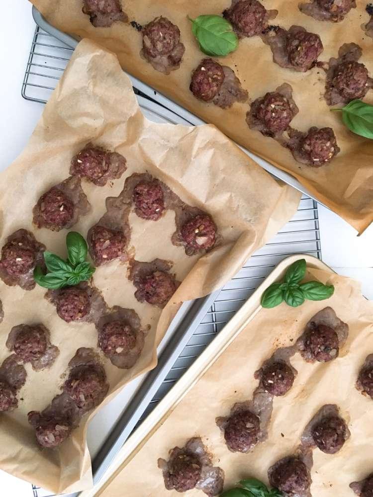 Hormone Balancing Meatballs