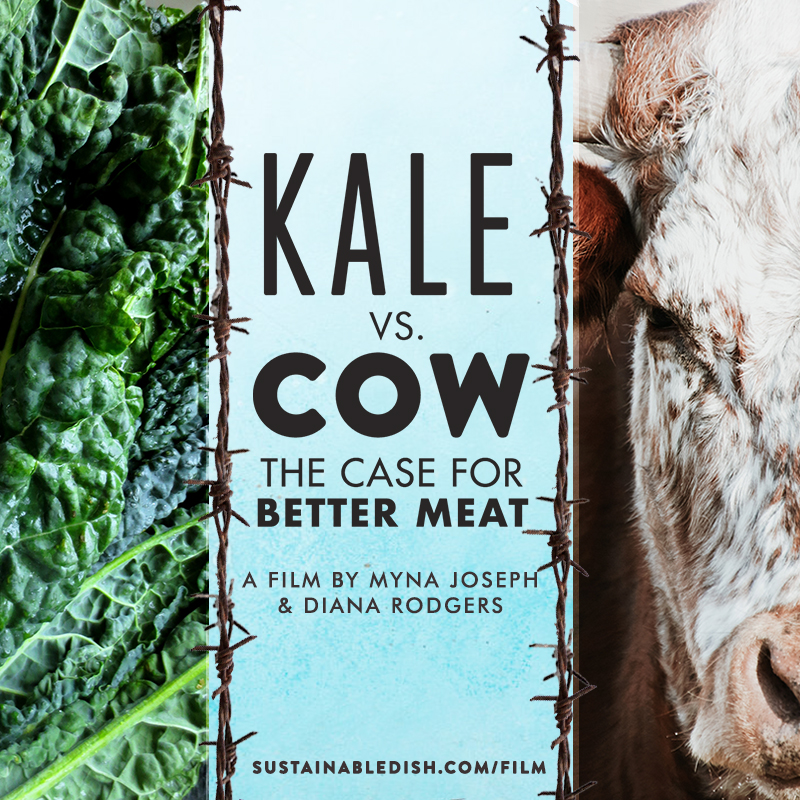 kale vs cow, better meat