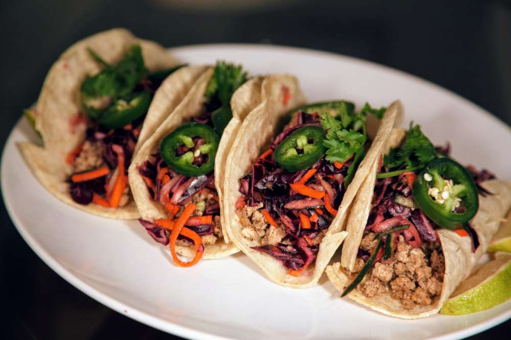 Turkey Tacos With Homemade Slaw Recipe