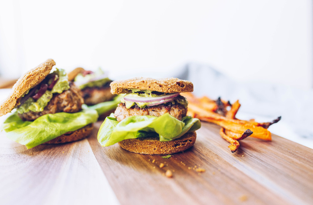 Greek Sliders With Avocado Tzatziki Recipe