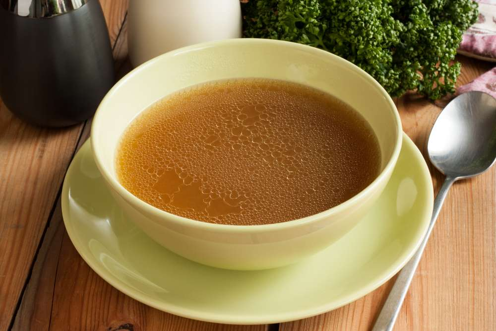 Drinking bone broth daily – made from grass-fed, pasturedsoup bones,feetandbacks– is the best way to get more healing gelatin in your diet.
