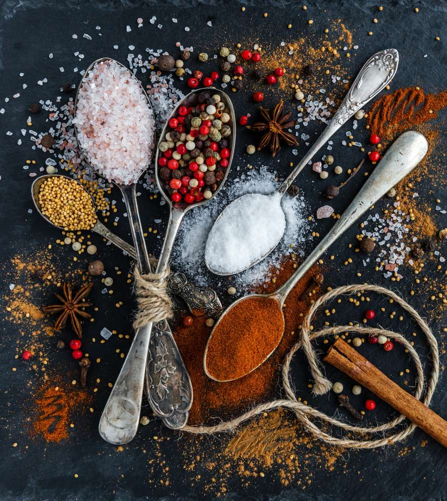 Spices are for more than just flavor. They also add health benefits to food.