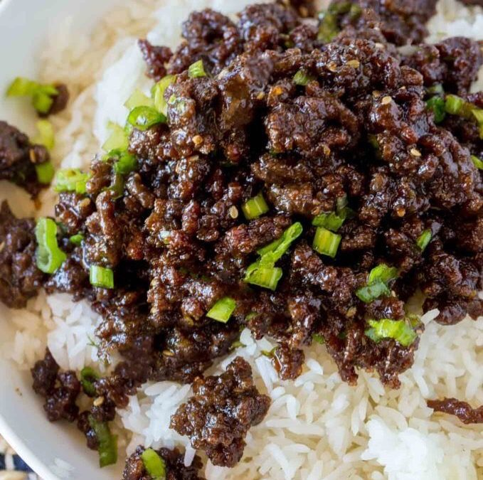 Easy Korean Beef Recipe
