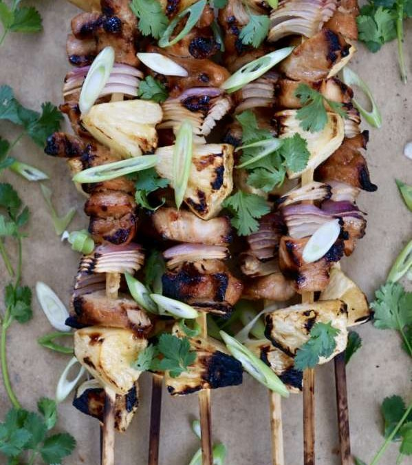 AIP Aloha Chicken Skewers Recipe