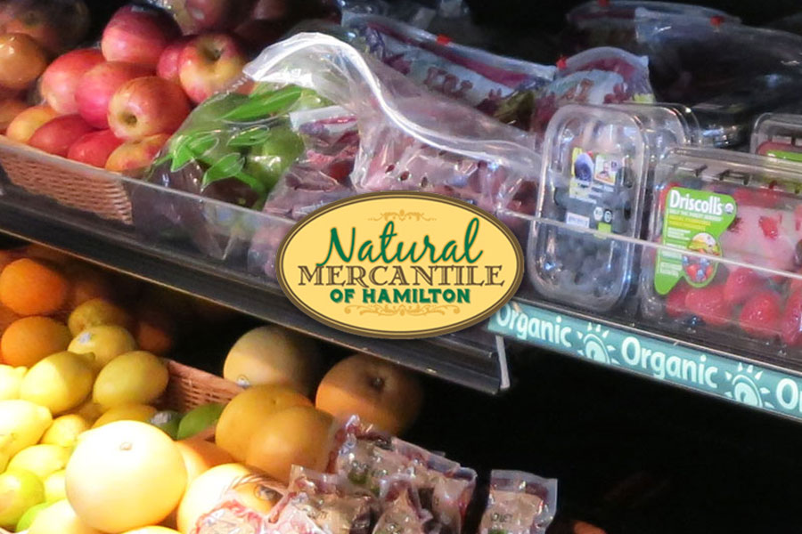 Natural Mercantile | Health Food Store produce shelves