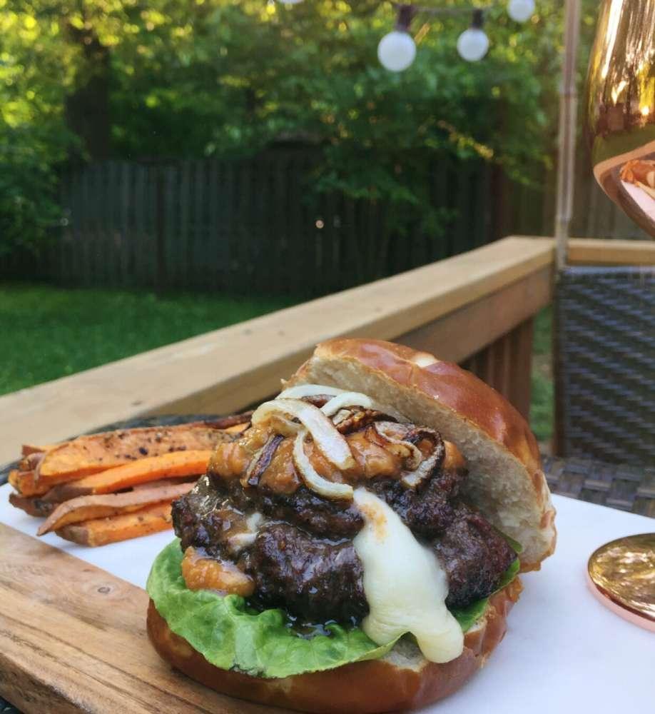 BBQ Burger Recipe
