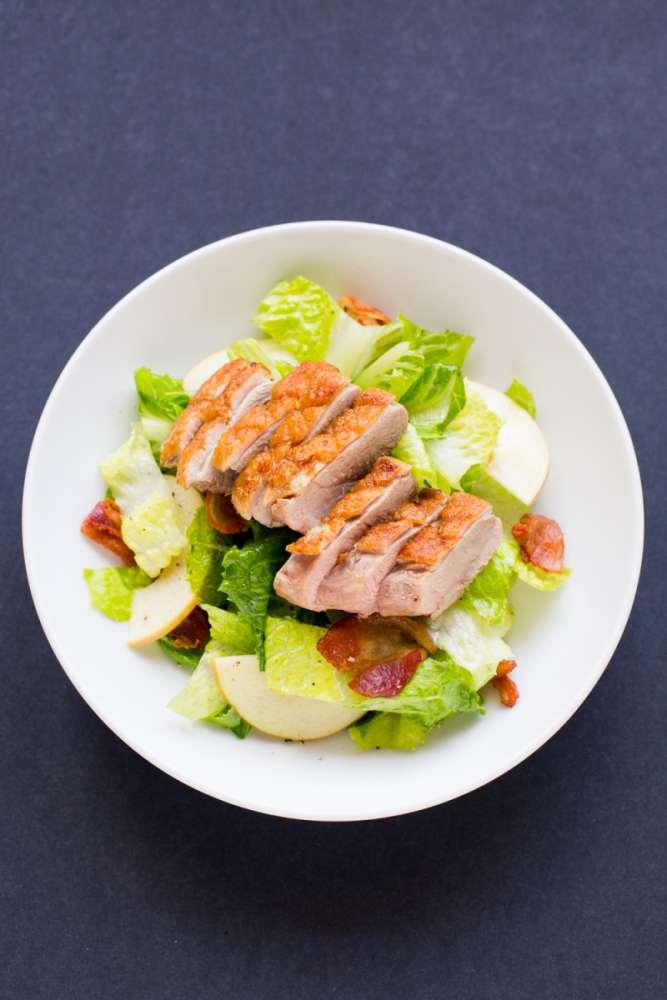 duck breast salad