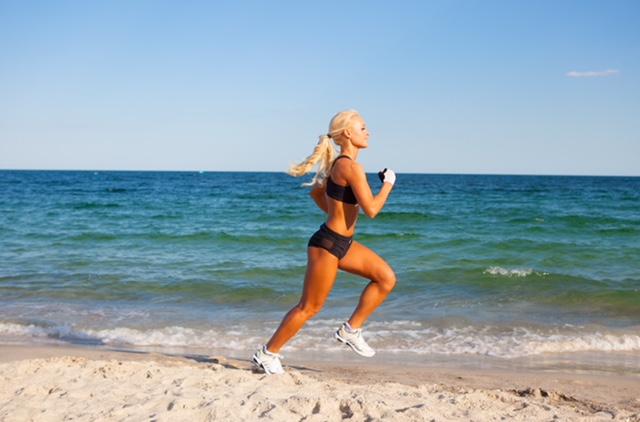 fat burning hormones, interval sprints