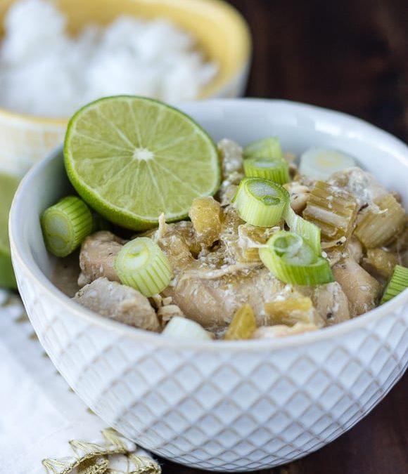 Instant Pot Coconut Chicken Recipe