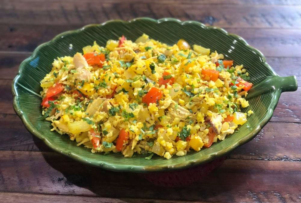 Cauliflower Arroz con Pollo Recipe
