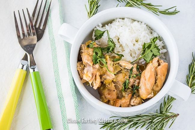 Slow Cooker Chicken Thighs With Green Chiles Recipe