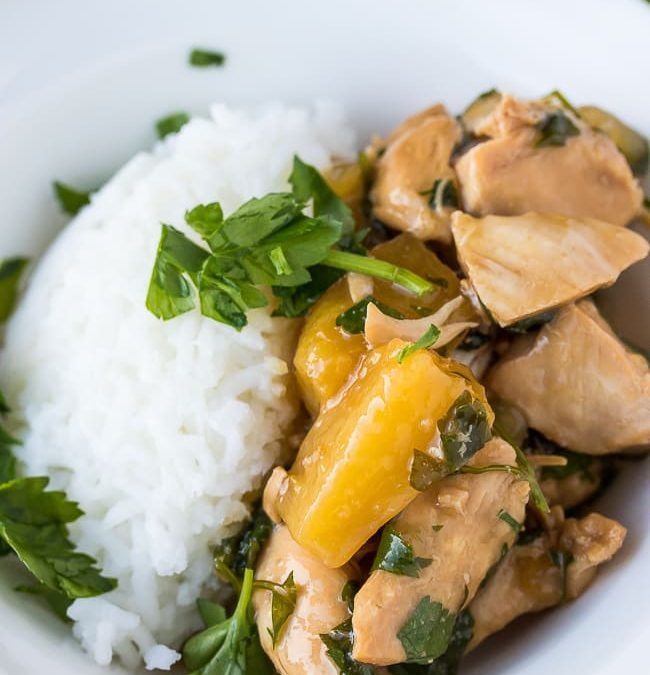 Instant Pot Teriyaki Chicken Recipe