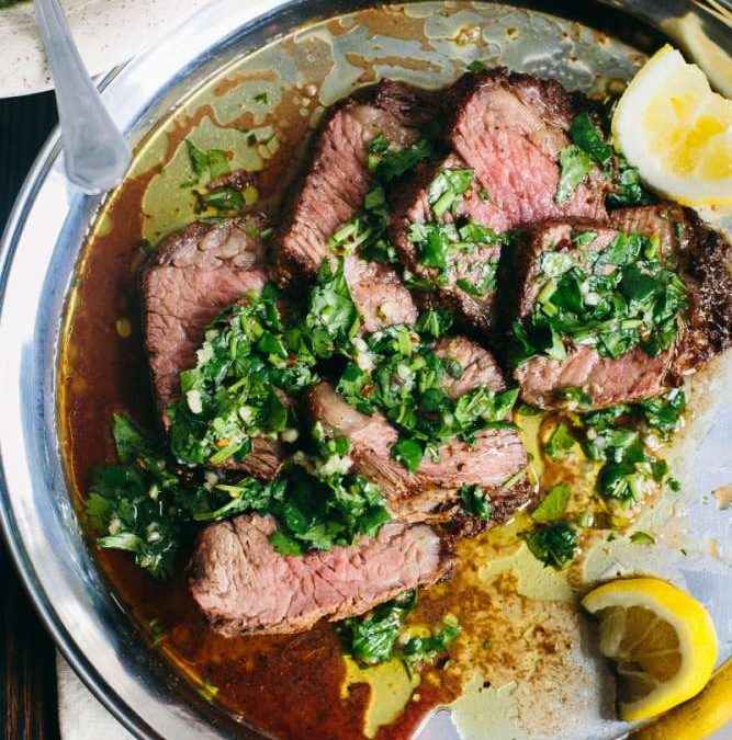 Argentinian-style Tri-Tip with Chimichurri Recipe