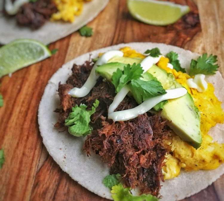 Green Chili Breakfast Taco Recipe