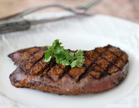 grassfed sirloin tip steak