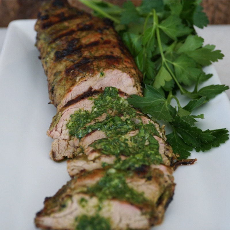 BBQ Pork Tenderloin