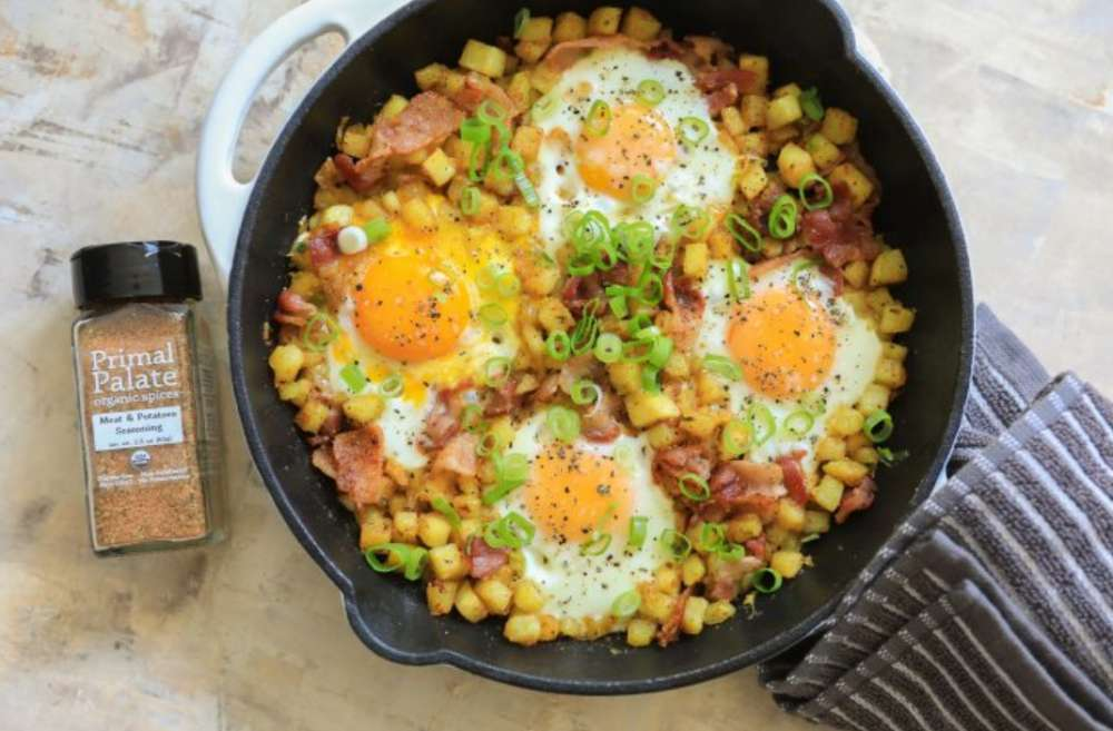 One Pan Breakfast Hash Recipe