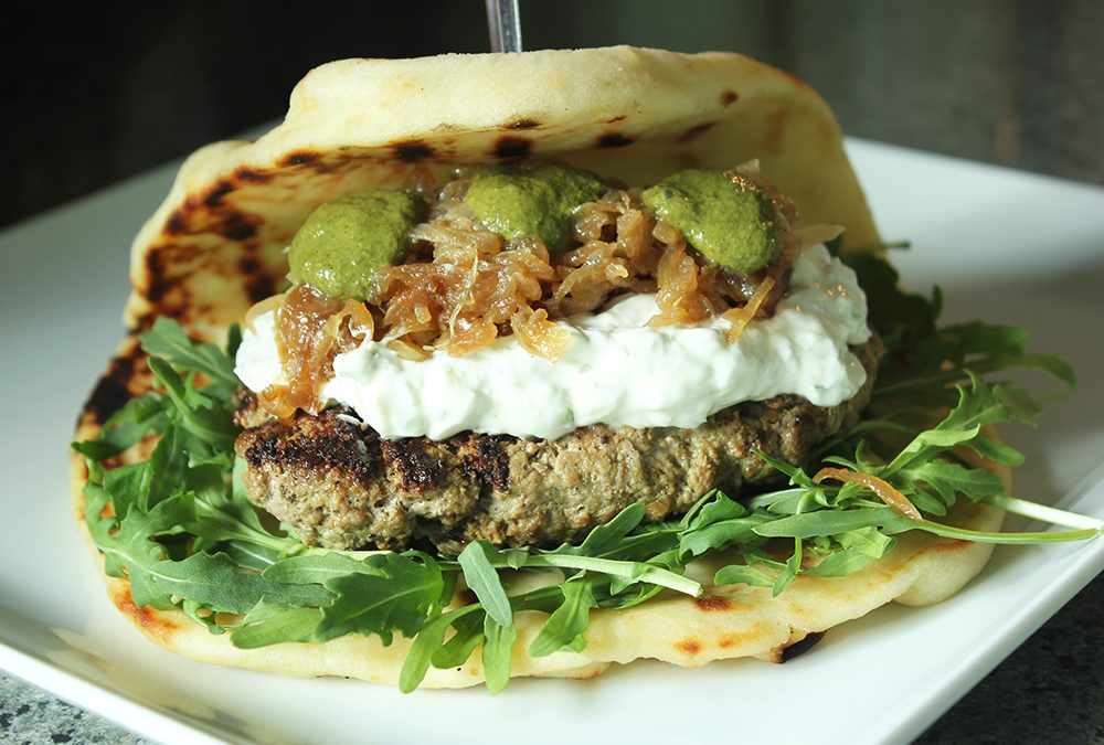 Indian-Inspired Bollywood Burger Recipe