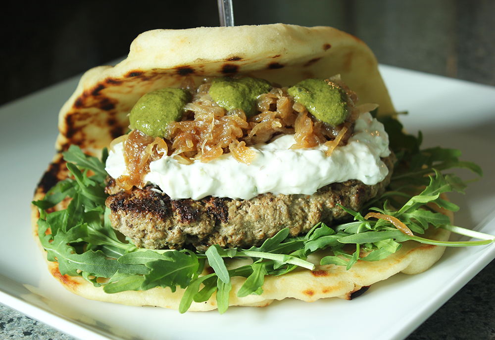 Prepare your tastebuds for this one. This bollywood inspired burger is sure to impress.