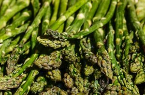 Asparagus is one of the sources of B Vitamin for vegetarians.