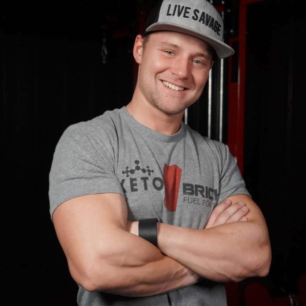 robert sikes, keto savage, august 2019 featured chef