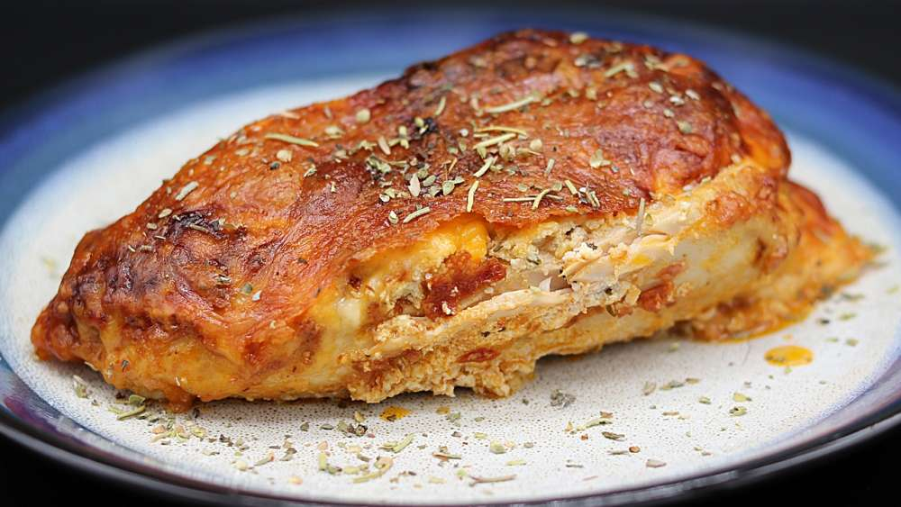 Lasagna Stuffed Chicken Recipe