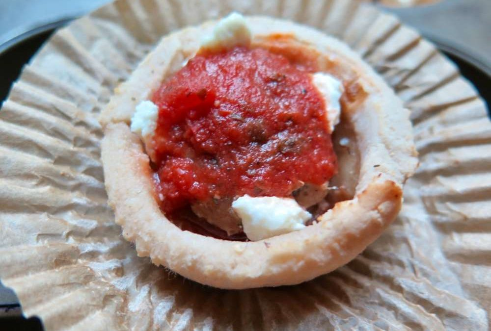 Gluten Free Pizza Cups Recipe