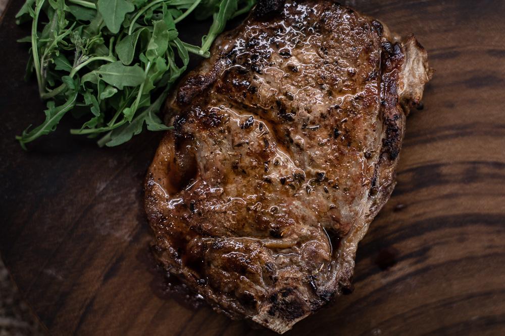 petit ribeye, Porcini Aleppo rub, beef, recipe