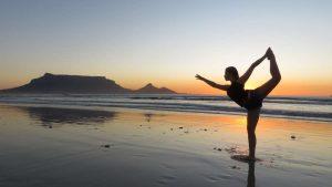 yoga, outdoor activities, beach