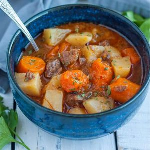 Instant Pot Recipe, Whole30, Beef Stew