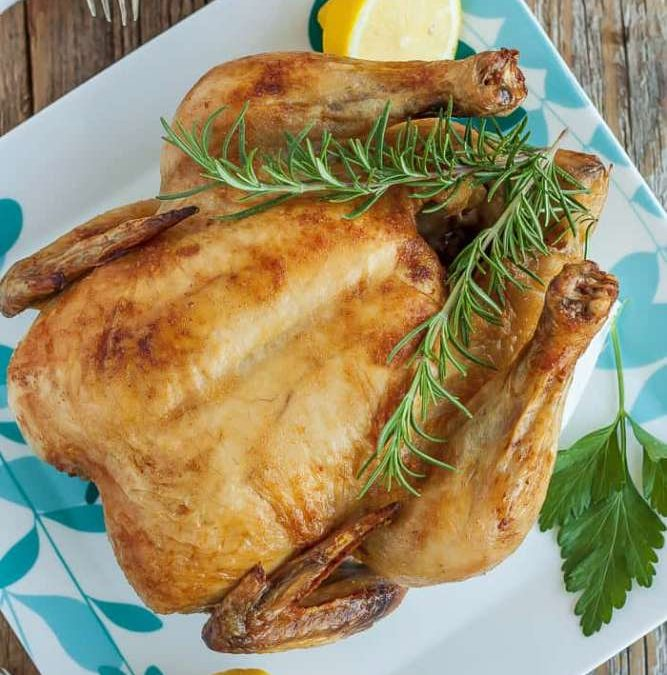 Perfect Pale Roast Chicken Recipe
