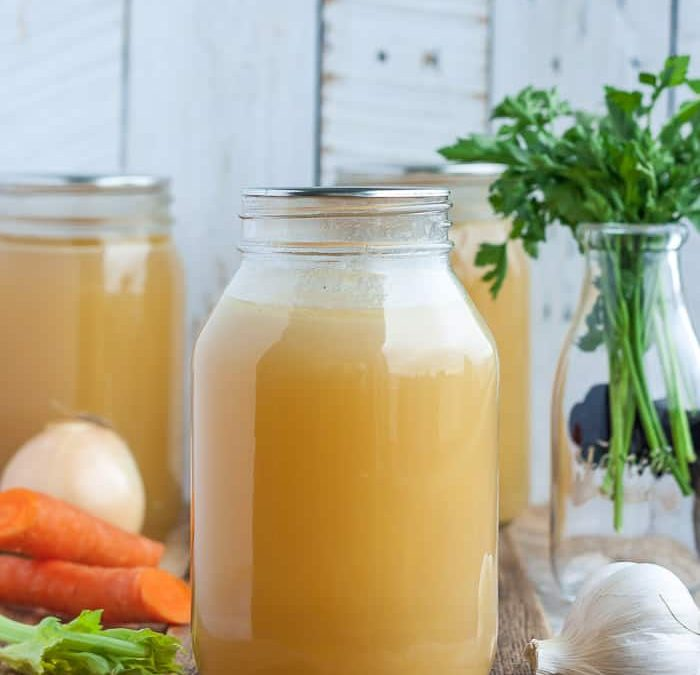 Turkey Bone Broth Recipe
